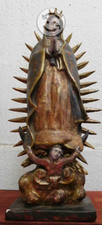 Virgen de Guadalupe antigua