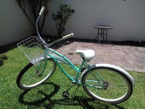 Bicicleta Vintage Verde