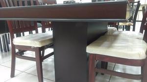 COMEDOR de 6 sillas INGLATERRA Modelo