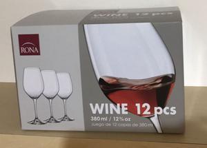 Copas para Vino Tinto  de la marca RONA
