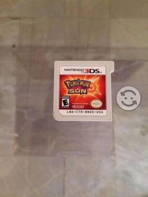 Juego pokemon sun para 3ds