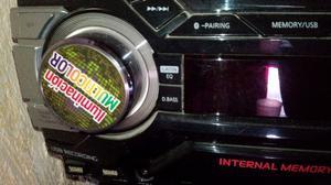 Minicomponente Panasonic  Watts con Bluetooth, Mod. SA