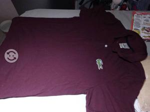Playera lacoste big cocodrile
