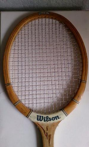 Raqueta de Madera Wilson Antigua Strata Bow de Coleccion