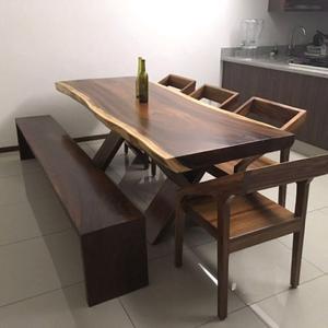 Salas y comedores para jardin tonal posot class for Comedores en madera y vidrio