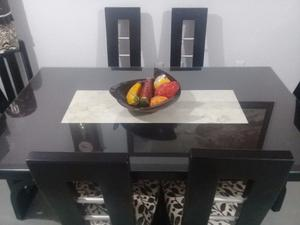 COMEDOR MODERNO COLOR CHOCOLATE