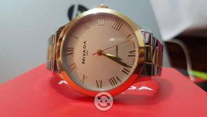 Reloj Nivada Swiss aún 11 meses de garantía