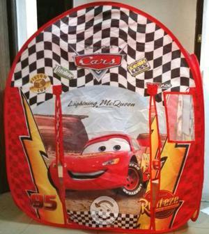 Casa de campaña para niños de Cars