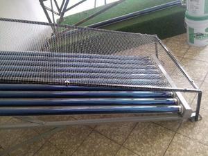 Malla Anti-granizo para Calentador Solar.