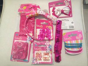kit de bellos accesorios para ninas y mama