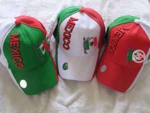 Gorra bordada de Mexico y varios diseños