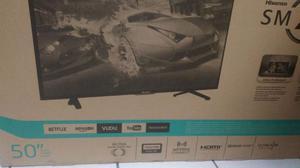 """Hisense 50"""" smart tv nueva!!"""