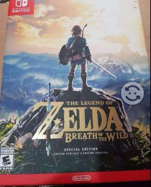 Juego Nintendo Switch Zelda Breth Edición Especial