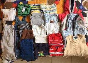 Lote de ropa para niño