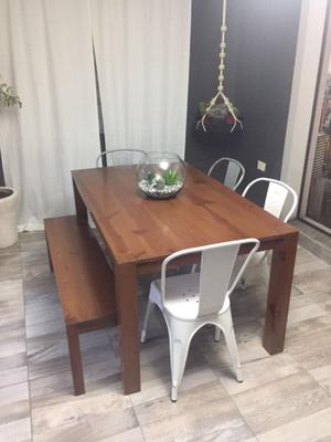 Mesa con Banca
