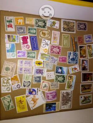 Coleccion de timbres postales