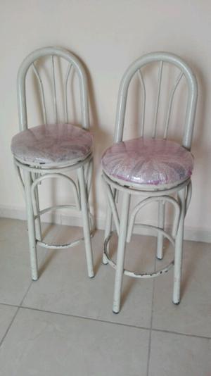 Par de sillas para barra