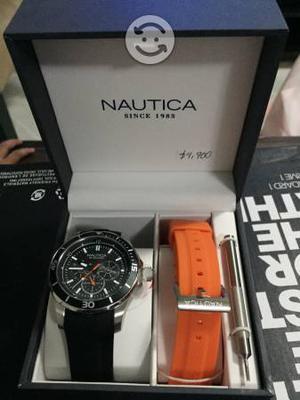 Reloj para caballero nautica 100% original