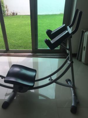 Abnescoaster, aparato para hacer ejercicio