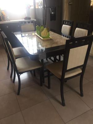 Comedor (6 sillas y mesa)
