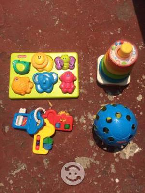 Lote de juguetes fisher price