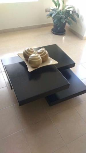 Mesa de centro y mueble de TV