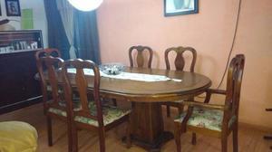 Remato Comedor en Madera de Pino 8 sillas