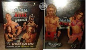 Slam Attax Evolution WWE Tarjetas