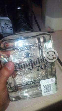 Vendo botella donjulio 70 original