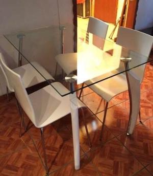 Comedor alto moderno de madera got muebles mx posot class for Comedor moderno de madera