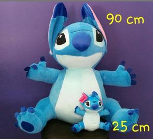 Stitch de Peluche Fino tipo Angora mide 90 cm nuevo + regalo