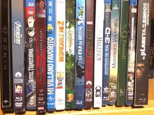 Blu-ray 3D varios títulos