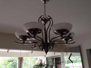 Hermosa Lámpara de techo Art Decó