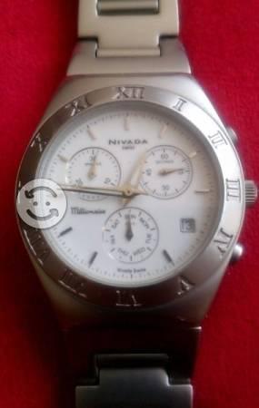 Reloj Nivada Swiss Millionaire NPM Cronografo
