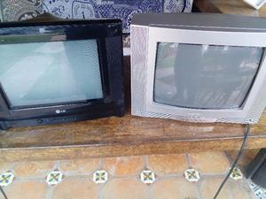 VENDO DOS TELEVISIONES DE 14 PULGADAS EN MUY BUENAS