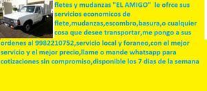 """fletes y mudanzas """"EL AMIGO"""""""