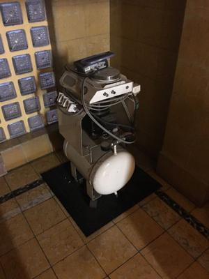 Robotin sirve como unidad dental