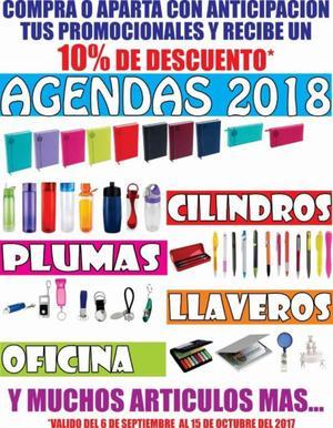 agendas, cilindros, promocionales
