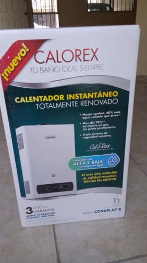 Calentador de agua instantaneo(boiler de paso)