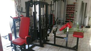 Jaula Modulo 4 Estaciones Cracken Gym Gimnasio