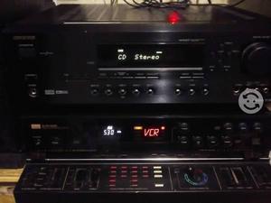 Monster y fino amplificador *onkyo* 500/watts
