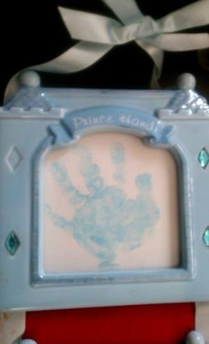 Portaretratos de Porcelana para Huellas del Bebé