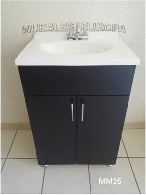 Lavabo color blanco barato posot class for Muebles para bano urrea