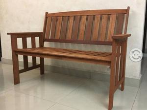 Banca de madera de teca