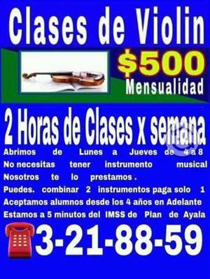 Clases de violín cuernavaca