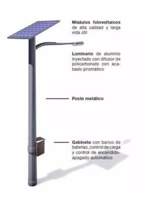 Luminaria Solar Leds  Lm 48w incluye Panel Solar 250 W