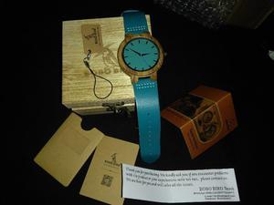 Reloj unisex de madera de bambú
