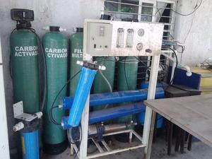 se vende equipo para planta de agua purificadora