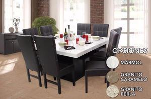 Muebles thaimex furniture posot class for Comedor de marmol 8 sillas precio