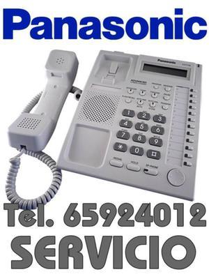 Conmutadores Panasonic, Servicio Instalación y